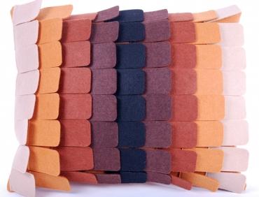 Design díszpárna - PALA kollekció - barna